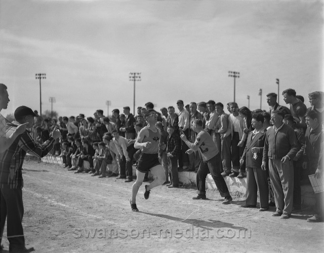 order of races in a track meet